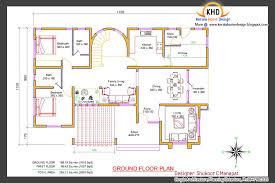 villa home plans beautiful 2853 sq ft 4 bedroom villa elevation and plan home