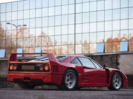 f40 auction f40 forza f40 and