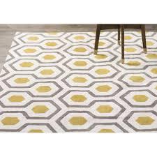 noam hand tufted beige gray yellow area rug yellow area rugs