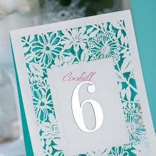 what size are table number cards 2018 5x laser cut wedding table numbers number cards baby shower