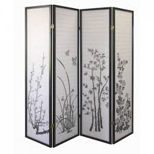 Wooden Room Divider Interior Oriental Style Of Room Dividers Walmart For Your Home