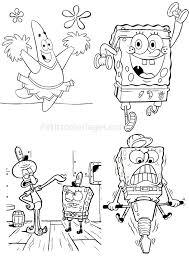 bob l eponge 4 bob the sponge coloring pages coloring for kids