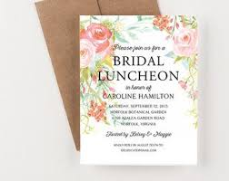 bridesmaid luncheon invitation 17 beste ideeën bridal luncheon invitations op