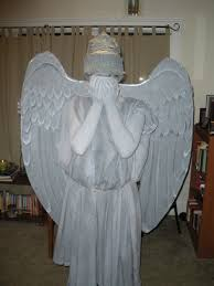 angel wings halloween weeping angel costume makeup mugeek vidalondon