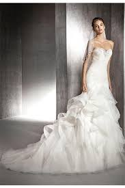 wedding dress ruching mermaid strapless sweetheart ruched tulle ruffle wedding dress