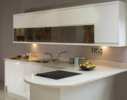 Microwave In Island In Kitchen Granite Countertop Cream Cabinet Knobs Simple Eggless Cake