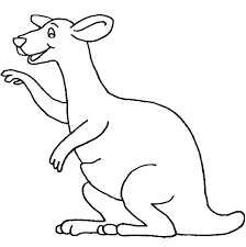 kangaroo coloring pages for toddler coloringstar