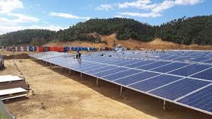 Solar Plant Lights by 5mw Toledo Cebu Solar Power Plant Ka Tei Solar Inc