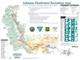 Arkansas River Map Arkansas Headwaters Recreation Area U2013 Journal Geographica