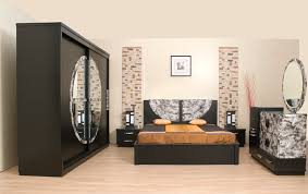 meubles chambre à coucher bois jardin idées