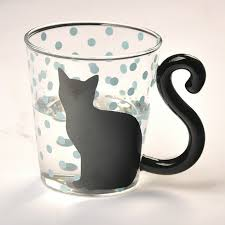 cute cup designs cute cat glass mug u2013 meowaish