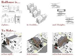 Twin House Plans Modern House Plans By Gregory La Vardera Architect August 2013