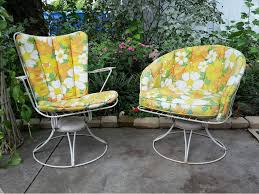 relax on the terrace with vintage patio chairs home decorations spots
