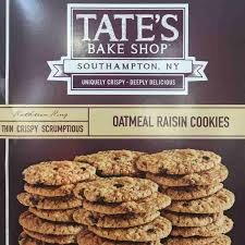 where to buy tate s cookies tate s bake shop oatmeal raisin cookies 1095747 south s market