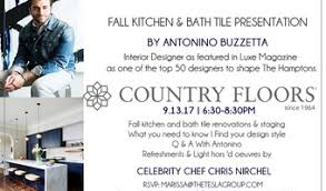 antonino buzzetta fall kitchen bath tile presentation with interior designer
