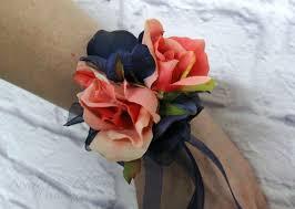 blush cream rose wrist corsage wedding flowers pinterest