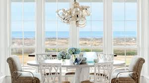 All Glass Dining Room Table House Dining Rooms Coastal Living