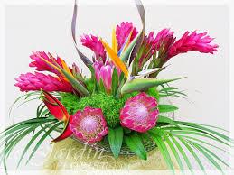 tropical flower arrangements photos of tropical flower arrangements kawaiian tropical