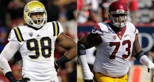 usc ucla will be a pre thanksgiving feast for nfl scouts