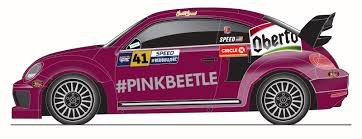 volkswagen beetle purple this pink vw beetle raised over 30 000 for breast cancer research