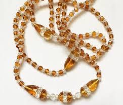 vintage glass crystal necklace images 130 best antique glass jewelry images antique glass jpg