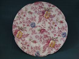 johnson brothers china chintz plate pattern