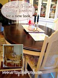 Dining Room Table Makeover Ideas How To Update An Old Dining Room Set Ideas To Update Your Tired
