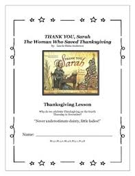 you the who saved thanksgiving common lesson plan