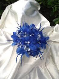 Wedding Flowers October Taylor Reserved Listing For October Wedding For Royal Blue