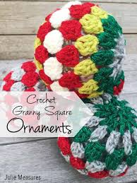 square crochet ornaments julie measures