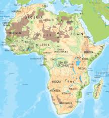 africa map map maps of africa political physical and road maps of africa