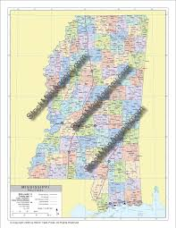 Map Of Ms Stockmapagency Com Maps Of Mississippi Offered In Poster Print