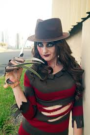 Ms Krueger Halloween Costume Krueger Cosplay