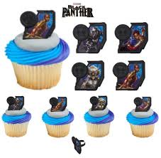 transformers cake toppers image topper your photo frame frosting black panther cupcake toppers 12 cupcake topper rings black