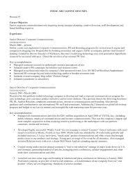 interest for resume career objective for resume sle area of