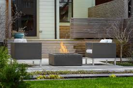 Concrete Fire Pit by Modern Fire Pit Bento 32 Concrete Usa Canada Uk Europe Paloform