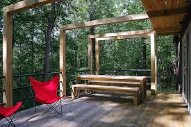 Rustic Bench Seat Rustic Cabin Designs Exterior Contemporary With Awning Bench Seat