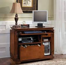 Oak Computer Desk With Hutch by Furniture Stunning Black Oak Small Computer Desk With Books For