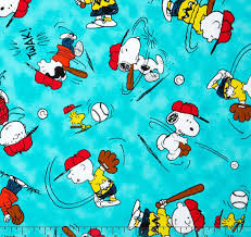 snoopy peanuts characters snoopy fabric snoopy peanuts characters all baseball fabric