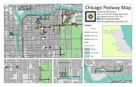 Green Line Chicago Map by Chicago Pedway Map Chicagopedway Twitter