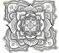free printable mandala coloring pages adults coloring page