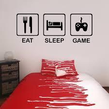 chambre gamer mangez le jeu de sommeil adolescents enfants de chambre boy chambre