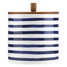 cobalt blue kitchen canisters kate spade new york kitchen canister reviews