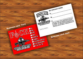 enforcement business cards card templates free