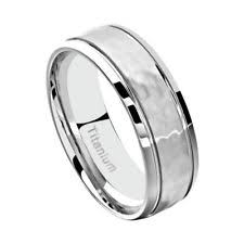 mens hammered wedding bands mens hammered wedding band ebay