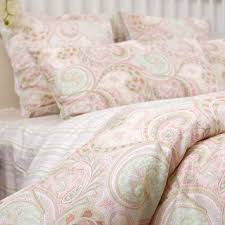 chic pink and green paisley bedding fabulous home design furniture