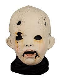 Scary Dolls Costumes Halloween Amazon Creepy Doll Halloween Costume Mask Clothing