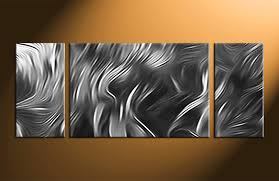 Modern Wall Art 3 Piece Canvas Wall Art Wall Shelves