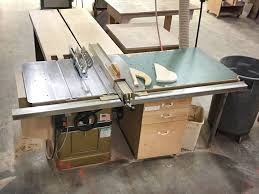 powermatic 10 inch table saw shop rental isgood woodworks