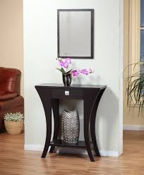 Entryway Wall Mirror Beauteous Console Sidetable In Small Entryway Table Design With
